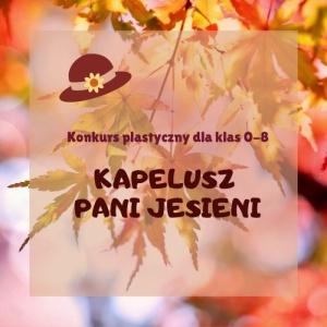 Kapelusz Pani Jesieni